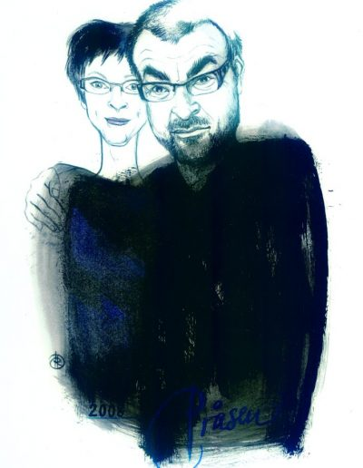 2008: Tove og Regner Grasten, filmproducenter