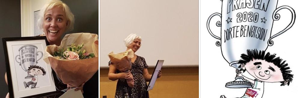 Dorte Bengtson modtager Pråsprisen 2020