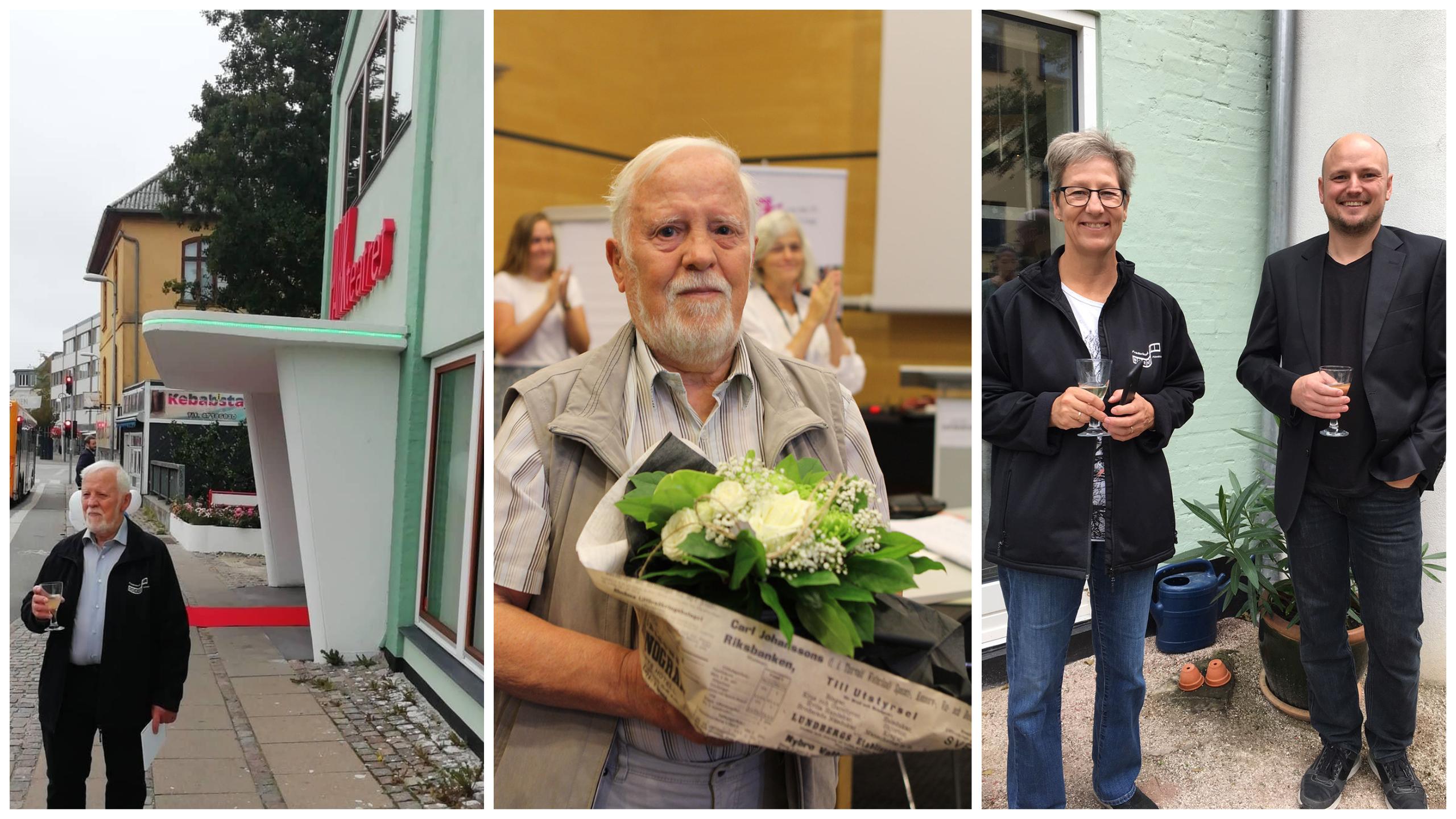 En gigant i børnefilmklubarbejdet – Frederikssund Filmklub for Børn og Unge fylder 50 og klubbens stifter Jørgen Wagner 80 år